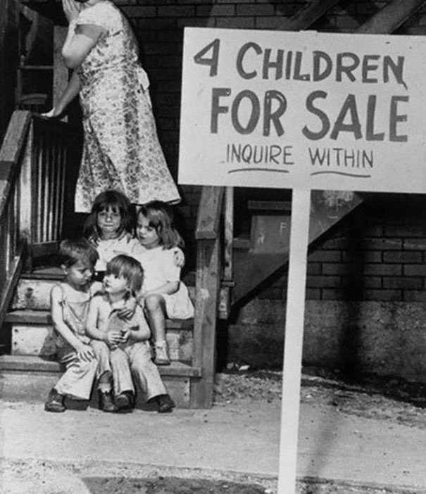childred for sale Chicago 1948