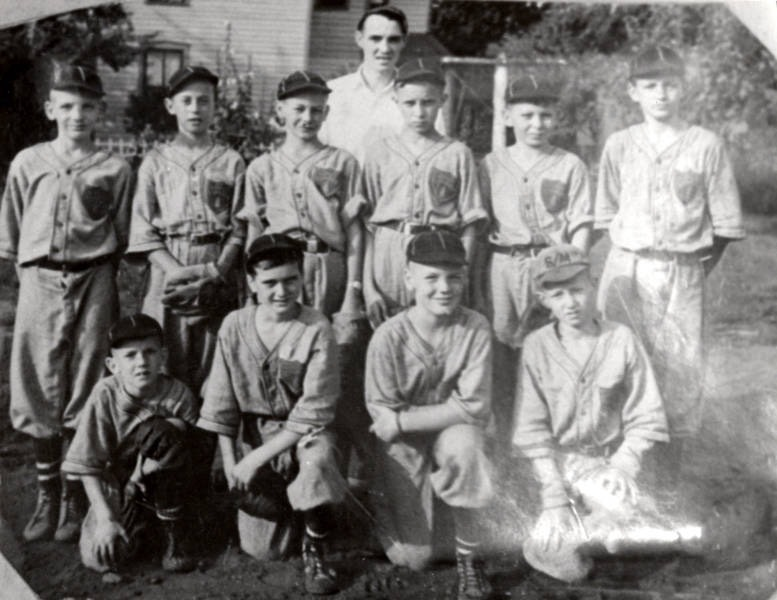 Lundy Lumber Little League team 1939
